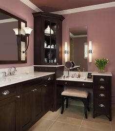 Colors. Bathroom vanity. Decor.