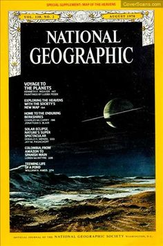 1970 - 08 - August / National Geographic Photography / Covers