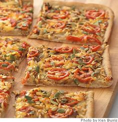 Caramelized Onion and White Bean Flatbread from @WebMD