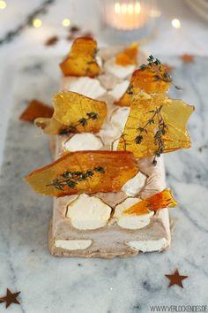 Maronenparfait Karamell Fleur de Sel Thymian