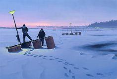 Sci-Fi Paintings by Simon Stålenhag