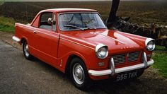 TRIUMPH Herald Coupe one of the first  cars I ever drove thanks mum