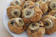 Biscuits aux dattes et à la compote de pommes