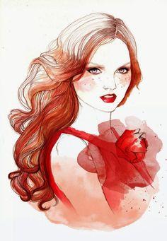 Beautiful Illustrations by Sarah Bochaton