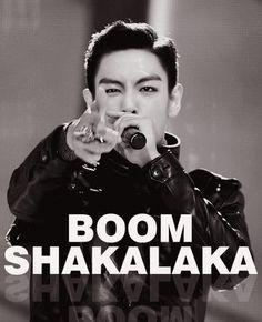 BOOM SHAKALAKA! TOP (Choi Seung Hyun) ♡ #BIGBANG #KPOP