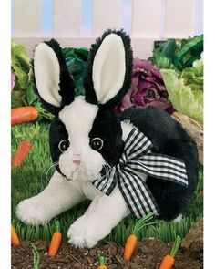 Bearington Checkers Bunny  Available at: www.always-forever.com