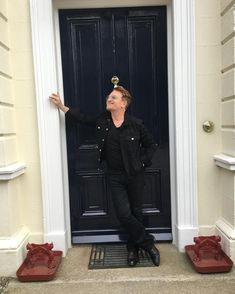 Bono - At me own front door, St Patrick Day Roam. the phone is where I live til I get home. And when the doorbell rings She tells me that I've got a key I ask her how she knows it's me. Adam Clayton, Dublin, Running To Stand Still, Paul Hewson, Bono U2, Larry Mullen Jr, Human Rights Activists, Ring Doorbell, U 2