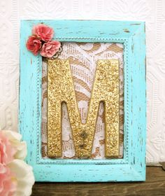Pink And Mint Nursery Decor Baby Girl Nursery by SeaLoveAndSalt, $34.00