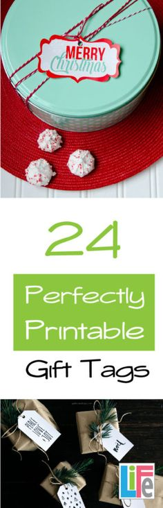 Printable Christmas gift tags for all styles. This list is amazing, they even have STAR WARS tage as #8. Love them!