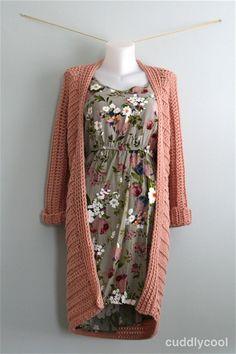 Luchtig vest voor de lente gratis patroon