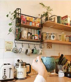 Küchen Design, House Design, Interior Design, Kitchen Interior, Kitchen Decor, Cozinha Shabby Chic, Home And Deco, Home Decor Furniture, Beautiful Kitchens