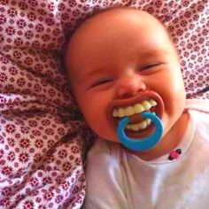 Cheesy Pacifier  HAHA! This cracks me up!!!
