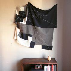 Money Laundering Blanket by Kathryn Clark