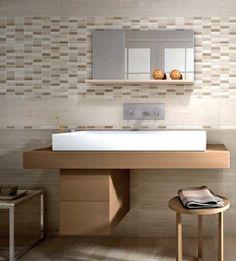 #Flaviker #Wood Wall White #Mosaico Rettificato Anticato 20x60 cm WWMO10 | #Gres | su #casaebagno.it a 34 Euro/mq | #mosaico #bagno #cucina