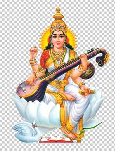 Image with transparent background, Saraswati Mata Sign Symbol Hindi Woman Guitar Photo without background its from Signs category, PNG file easily with one click Free HD PNG images, png design with high quality. Lord Saraswati, Saraswati Mata, Saraswati Goddess, Durga, Saraswati Painting, Lord Shiva Painting, Saraswati Picture, Ganesh Wallpaper, Lakshmi Images