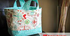 Fabric Basket Tutorial - Trina Gallop for Fort Worth Fabric Studio Fabric Basket Tutorial, Purse Tutorial, Diy Tutorial, Fabric Boxes, Fabric Storage, Storage Baskets, Sewing Tutorials, Sewing Projects, Bag Tutorials