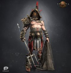 Gladiator by Alex Vasin | Fashion | 3D | CGSociety