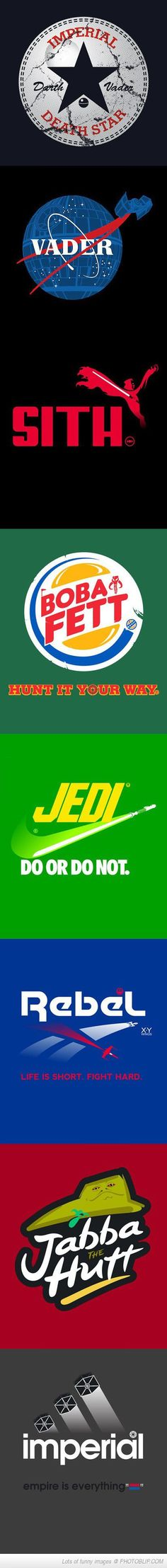 Some Logos In Star Wars Style