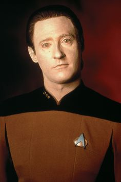 Data was one of my favorites! How Brent Spiner said his lines without cracking up sometimes amazed me!