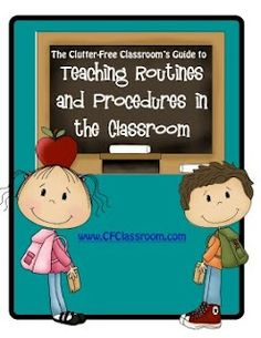 This site is absolutely full of classroom management idea. I especially like her Thursday Folders and Communication Folders to traffic the amount of papers that go home, also this helps parents know when to expect papers to be coming home.