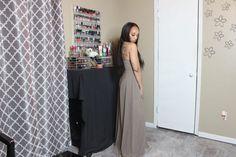 3 Date Night Outfits: Video Inside - #fashion #offtheshoulder #taupe #romper #fashionnova #datenight #jumpsuit #fashionblogger #styleblogger #fall #fallfashion #fallfashionideas #falldatenight