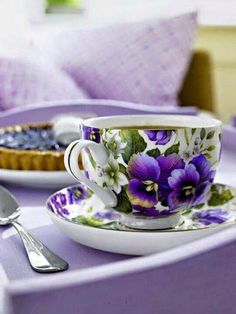 Here's Some Lavender Tea 4U Sis ;) Njoy & Relax!!