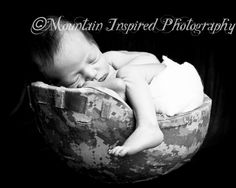 I love this! Airforce baby... One day a baby Bright