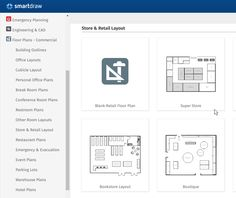 Loop store layout taxiim pinterest store layout showroom for Retail store layout software