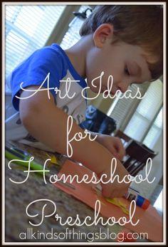 All Kinds of Things: Homeschooling a Three-Year Old (Homeschool Preschool)