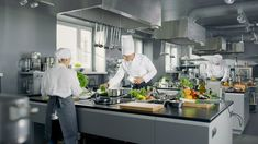 Buy Big and Glamorous Restaurant Busy Kitchen, Chefs and Cooks Working on their Dishes. Big and Glamorous Restaurant Busy Kitchen, Chefs and Cooks Working on their Dishes. One Green Planet, Swag, I Chef, Restaurant Kitchen, Cook At Home, Commercial Kitchen, Vegan Life, Cooking Time, Jigsaw Puzzles