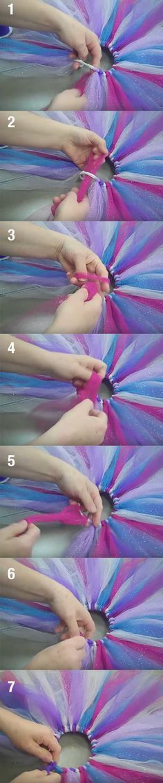 This adorable hanging mobile i Diy Tutu, Unicorn Birthday Parties, Unicorn Party, Tutu Tutorial, Holidays And Events, Diy For Kids, Diy Clothes, Diy Fashion, Fancy Dress