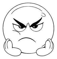 angry and boring face emoticon coloring page Angry Cartoon Face, Cartoon Faces Expressions, Funny Cartoon Faces, Laugh Cartoon, Drawing Cartoon Faces, Happy Cartoon, Boring Face, Emoji Coloring Pages, Looney Tunes Cartoons