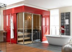 Banheiros e lavabos decorados – Vidrado.com