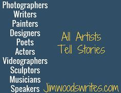 One thing all artists have in common...