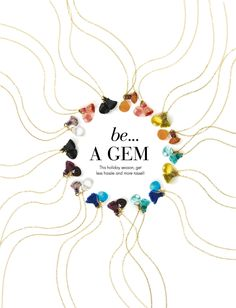 SNEAK PEEK! be...Dogeared HOLIDAY GIFT GUIDE 2013: be... A Gem {click to shop}