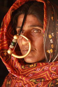 India | Dhaneta Jat woman. Gujarat | ©Walter Callens