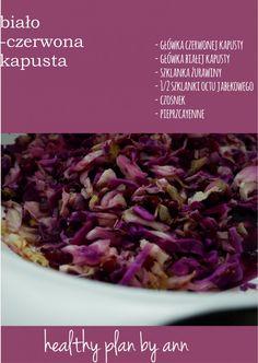 bialo czerw kapusta Cabbage, Anna, Gluten Free, Vegetables, Cooking, Fit, Glutenfree, Kitchen, Shape