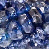 Iolite Beads Faceted Heshi