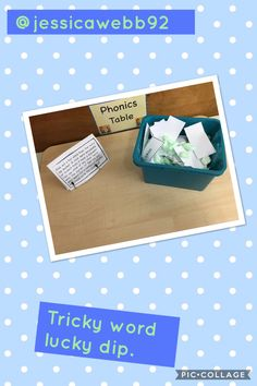 Tricky word lucky dip. Reception Class, Reception Ideas, Phase 3 Sounds, After School Care, Continuous Provision, Jolly Phonics, Early Reading, Phonics Activities, Eyfs