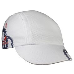 ae23da1567b Headsweats Spin Cycle Cycling Cap White with Gears     Details can be found  by
