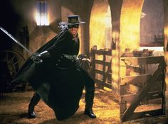 The Mask of Zorro (1998) photos, including production stills, premiere photos and other event photos, publicity photos, behind-the-scenes, and more.