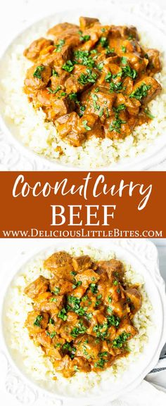 Coconut Beef Curry, Keto Curry, Pork Curry, Chicken Curry Salad, Easy Beef Curry Recipe, Curry Recipes, Beef Recipes, Cooking Recipes, Recipes With Diced Beef