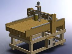 3 axis CNC router MDF ( metric ) Plans                                                                                                                                                                                 More