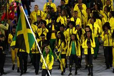 Team Jamaica Olympics » Shelly-Ann Fraser-Pryce gets the WIN for best flag bearer at opening ceremony