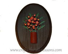 Nails are hammered into wood at different depths to create a beautiful 3D effect - learn how at Crafts For All Seasons