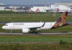 https://flic.kr/p/G8p4cR   VT-TNJ Airbus A320 Néo Vistara   Airbus A320-251N Vistara s/n 8138 Delivery flight TLS/DEL Eurospot / TLS 2018