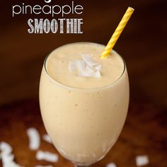 Mango Pineapple Smoothie Recipe Beverages with frozen mango, pineapple, bananas, water, vanilla protein
