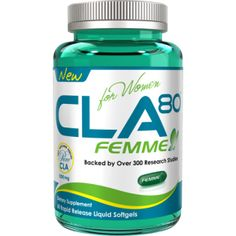CLA Femme 60 caps - precio ( $260 Pesos )  ALLMAX