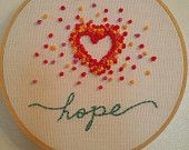 Handmade Embroidery - #handembroidered faith based and #inspirational hoops with a #catholic twist