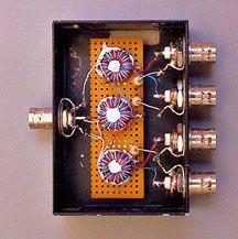 4-port-box home brew antenna splitter